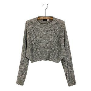 Urban Outfitters BDG Crop Cable Knit Sweater